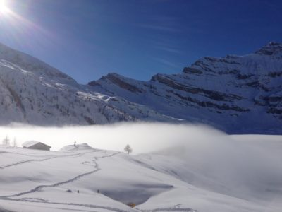 En hiver à Salanfe