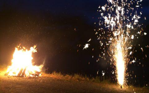 Fête du 1er août 2016 feu